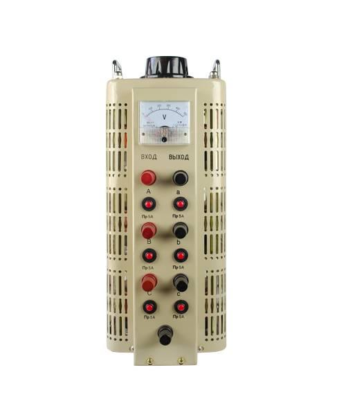 Регулируемый трехфазный автотрансформатор (ЛАТР) Энергия TSGC2-3k (3 кВА) от Энергия