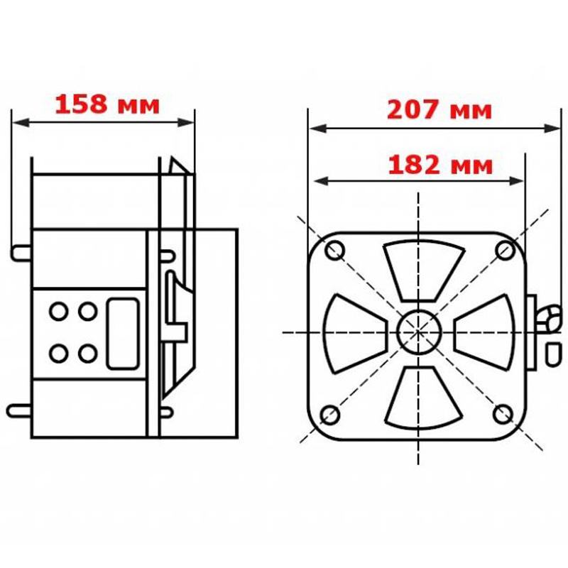 Регулируемый однофазный автотрансформатор (ЛАТР) ЭНЕРГИЯ TDGC2-1k (1 кВА) от Вольт Маркет