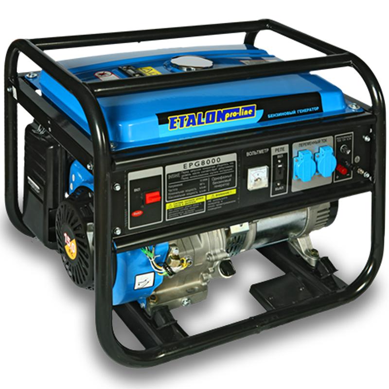 Бензогенератор ETALON EPG 8000 на 6 кВт - Генераторы