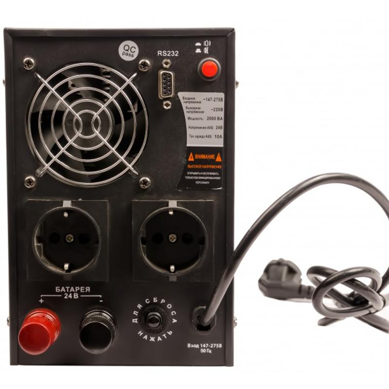Инвертор (преобразователь напряжения) Энергия ПН-2000 от Вольт Маркет