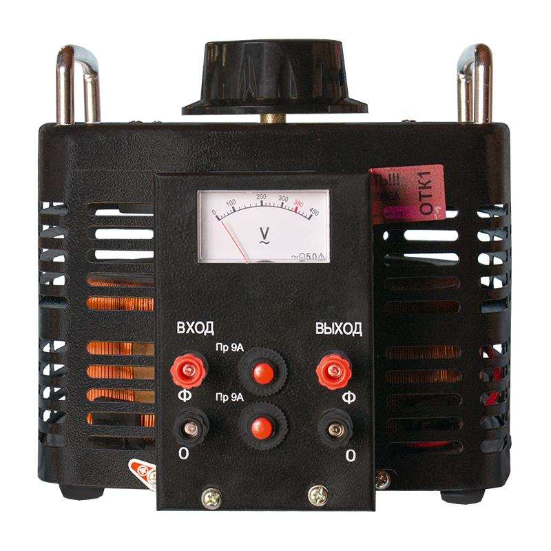 Автотрансформатор (ЛАТР) ЭНЕРГИЯ Black Series TDGC2-3кВА 9А (0-300V) однофазный - Трансформаторы