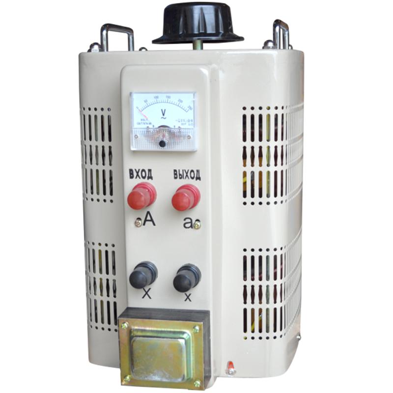 Регулируемый однофазный автотрансформатор (ЛАТР) ЭНЕРГИЯ TDGC2-10k (10 кВА)Трансформаторы<br>Регулируемый однофазный автотрансформатор  ЛАТР  TDGC2-10k  10 кВА<br><br>Гарантия: 12 месяцев<br>Тип напряжения: Однофазный<br>Мощность (кВА): 10<br>Габаритные размеры (мм): 262х320х350<br>Вес (кг): 28.8<br>brutto-demissions: 315х435х470<br>brutto-weight: 39000