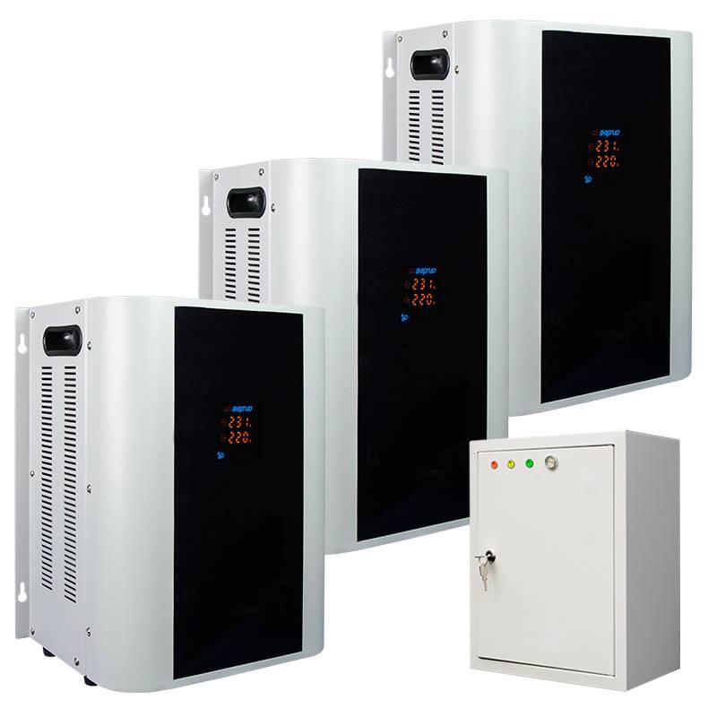 Трехфазный стабилизатор напряжения Энергия Hybrid 24000 (U) - Стабилизаторы напряжения