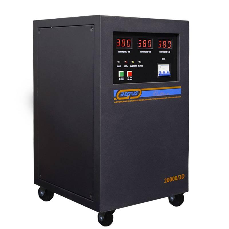 Трехфазный стабилизатор напряжения Энергия Voltron 20000/3D (20 кВА) от Вольт Маркет