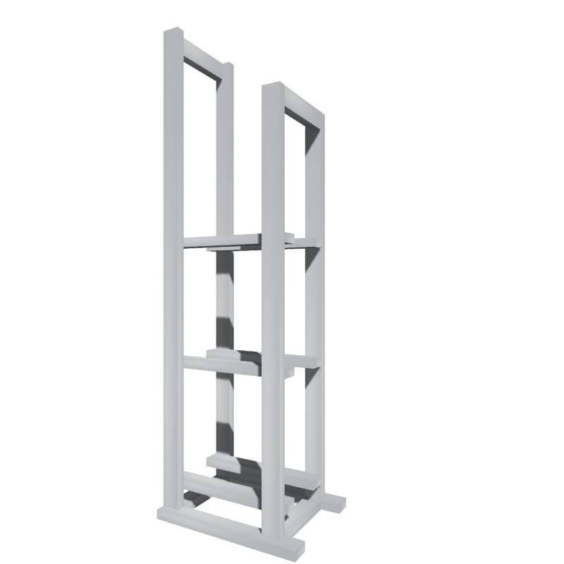 Стойка коммутационная для напольных стабилизаторов Энергия (вертикальная) 155-М-4