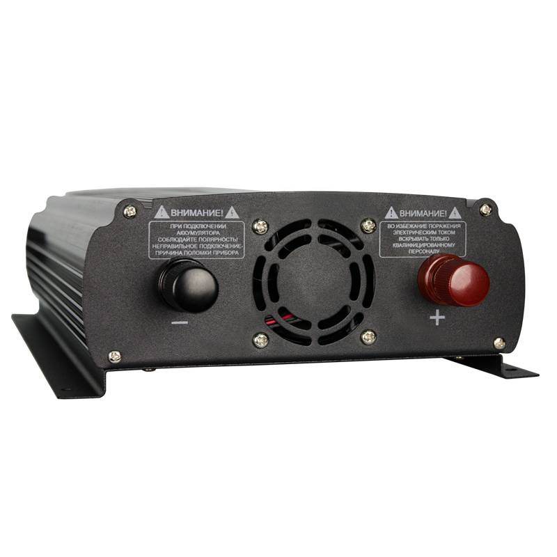 Автомобильный инвертор Энергия AutoLine Plus 1200 с функцией зарядки аккумулятора от Вольт Маркет