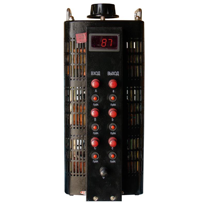 Автотрансформатор (ЛАТР) ЭНЕРГИЯ Black Series TSGC2-9кВА 9А (0-520V) трехфазный - Трансформаторы