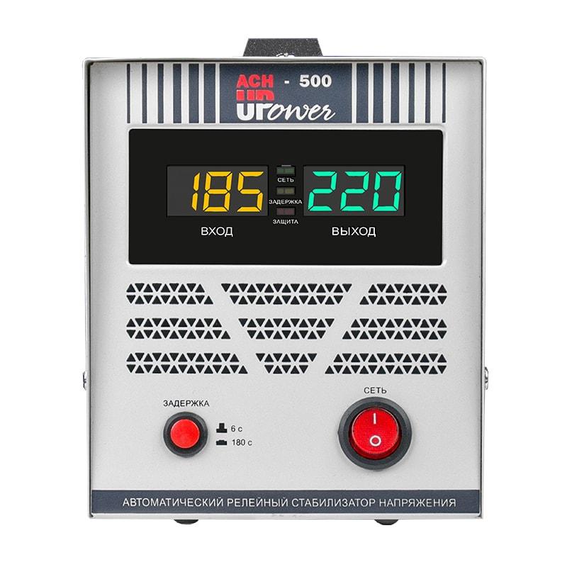 Однофазный стабилизатор напряжения UPOWER АСН 500 II поколение от Upower