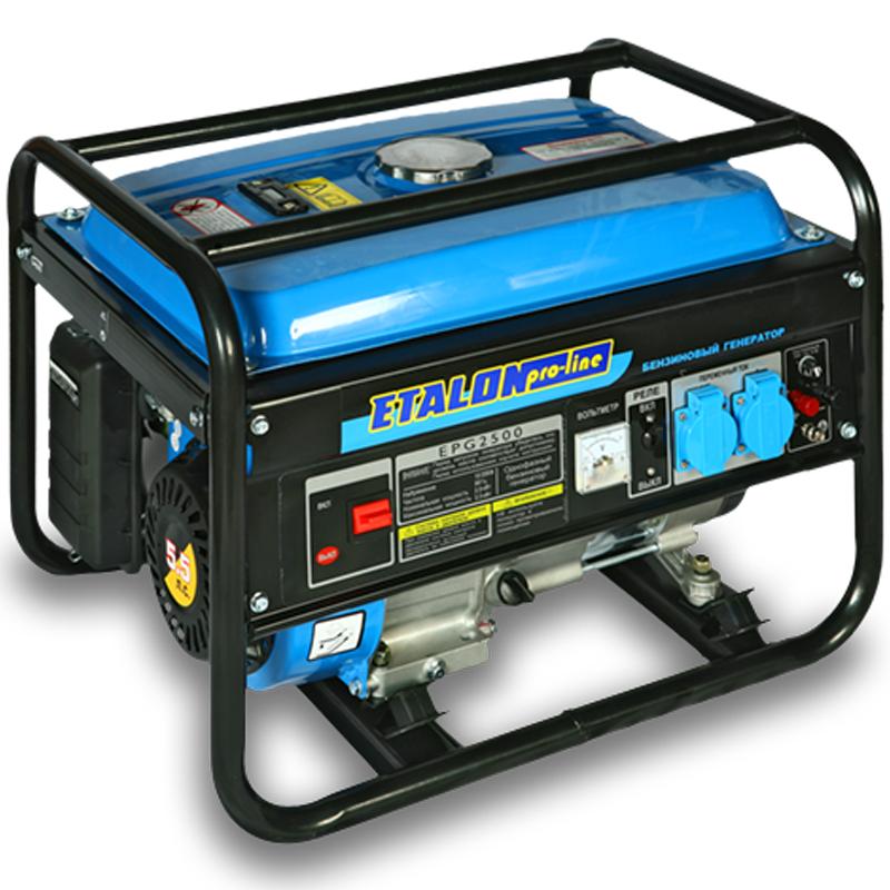 Бензиновая электростанция Etalon EPG 2500 (бензогенератор 2 кВт) - Генераторы