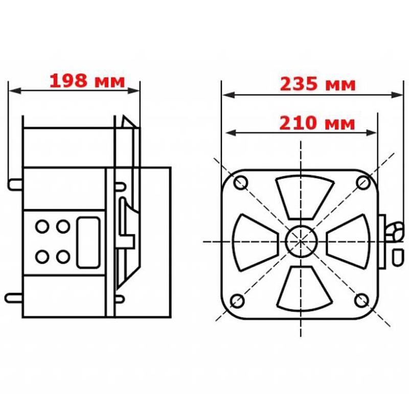Регулируемый однофазный автотрансформатор (ЛАТР) ЭНЕРГИЯ TDGC2-3k (3 кВА) от Вольт Маркет