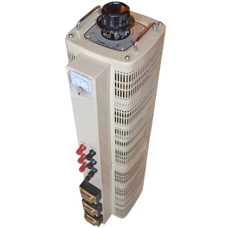 Регулируемый трехфазный автотрансформатор (ЛАТР) ЭНЕРГИЯ TSGC2-30k (30 кВА)Трансформаторы<br>Регулировочный трехфазный автотрансформатор  ЛАТР  TSGC2-30k  30 кВА<br><br>Гарантия: 12 месяцев<br>Тип напряжения: Трехфазный<br>Мощность (кВА): 30<br>Габаритные размеры (мм): 730х320х350<br>Вес (кг): 80<br>brutto-demissions: 315х445х1175<br>brutto-weight: 113000