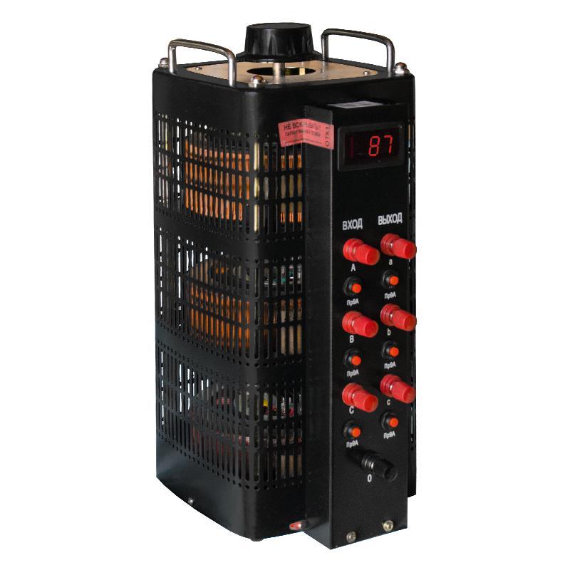 Автотрансформатор (ЛАТР) Энергия Black Series TSGC2-9кВА 9А (0-520V) трехфазный от Энергия