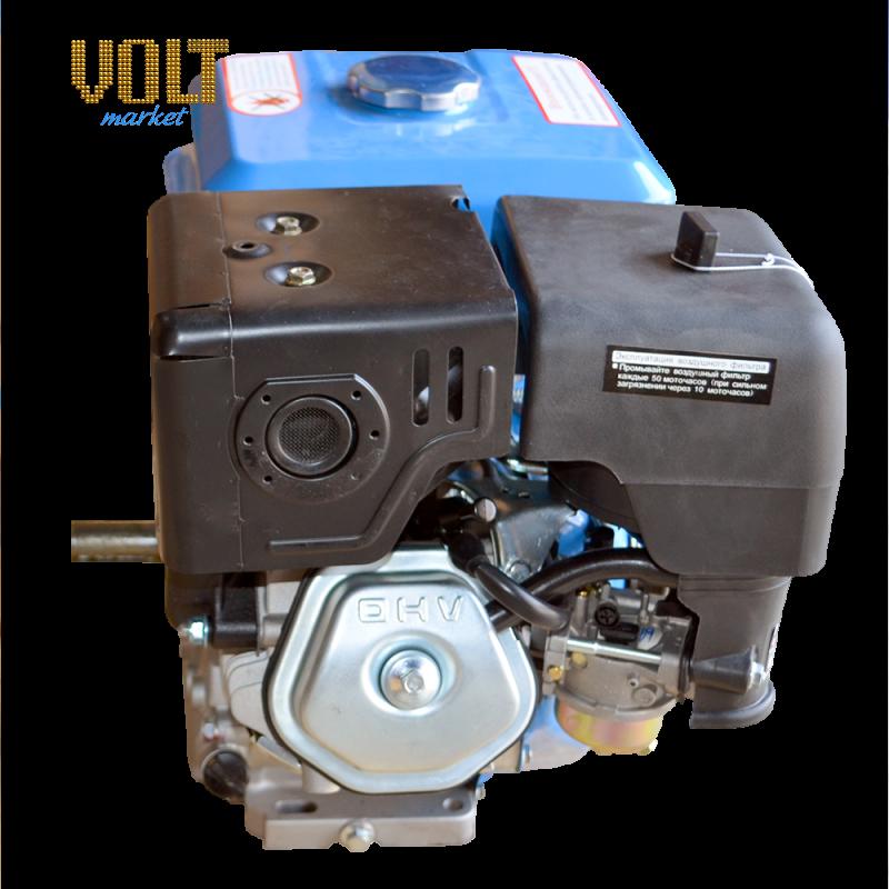 Бензиновый двигатель ETALON GE177FE (9л.с.) с электростартером от Вольт Маркет