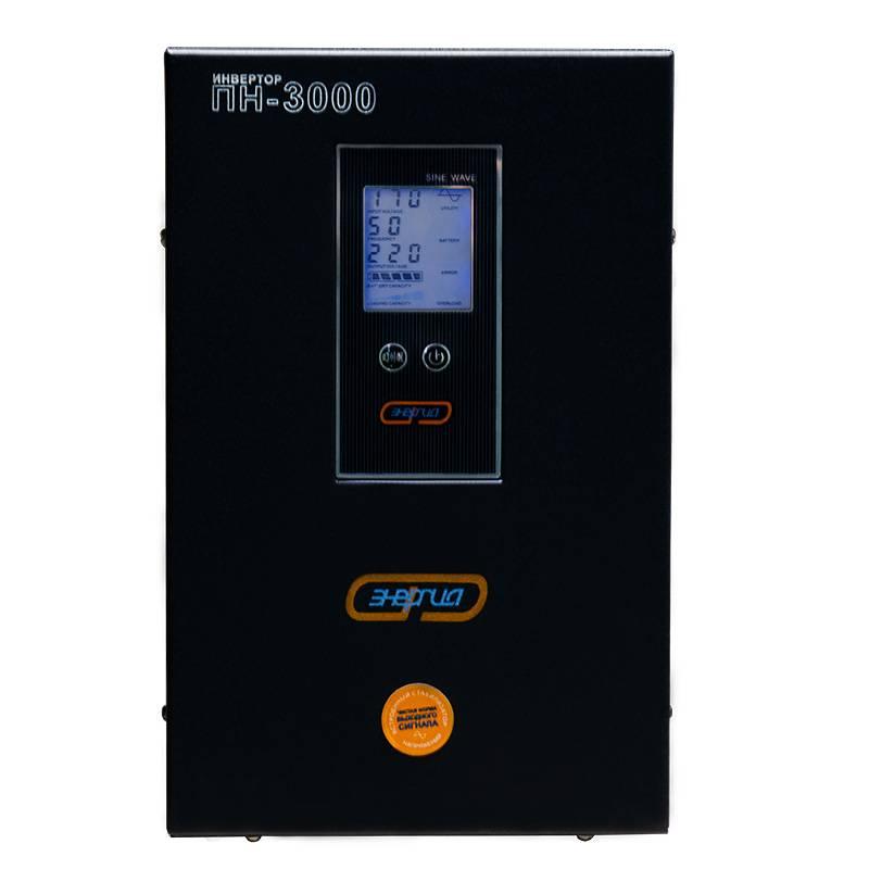 Инвертор (преобразователь напряжения) Энергия ПН-3000 - Инверторы