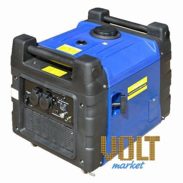 Генератор инверторный бензиновый ET-3600I EtalonГенераторы<br>Генератор инверторный бензиновый ET-3600I Etalon<br><br>Инверторный генератор: Да<br>С функцией сварки: Нет<br>Частота (Гц): 50<br>В кожухе: Да<br>Тип: Бензиновый<br>Тип запуска: Ручной стартер, Электростартер<br>Номинальная мощность (кВт): 3<br>Максимальная мощность (кВт): 3.1<br>Объем топливного бака (л): 13<br>Уровень шума (дБ): 59<br>Габаритные размеры (мм): 600х450х500<br>Вес (кг): 55<br>brutto-weight: 59000