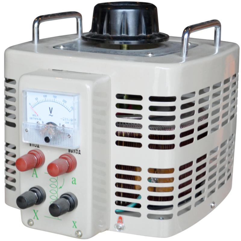 Регулируемый однофазный автотрансформатор (ЛАТР) ЭНЕРГИЯ TDGC2-5k (5 кВА) - Трансформаторы