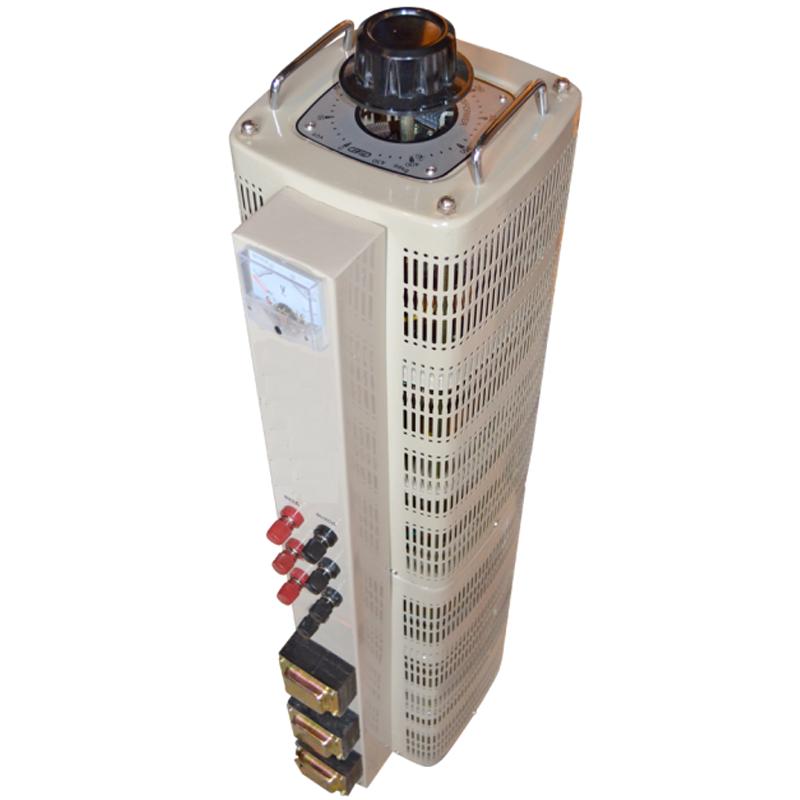 Регулируемый трехфазный автотрансформатор (ЛАТР) ЭНЕРГИЯ TSGC2-20k (20 кВА)Трансформаторы<br>Трехфазный автотрансформатор  ЛАТР  TSGC2-20k  20 кВА<br><br>Гарантия: 12 месяцев<br>Тип напряжения: Трехфазный<br>Мощность (кВА): 20<br>Габаритные размеры (мм): 730х320х350<br>Вес (кг): 79.5<br>brutto-weight: 83000