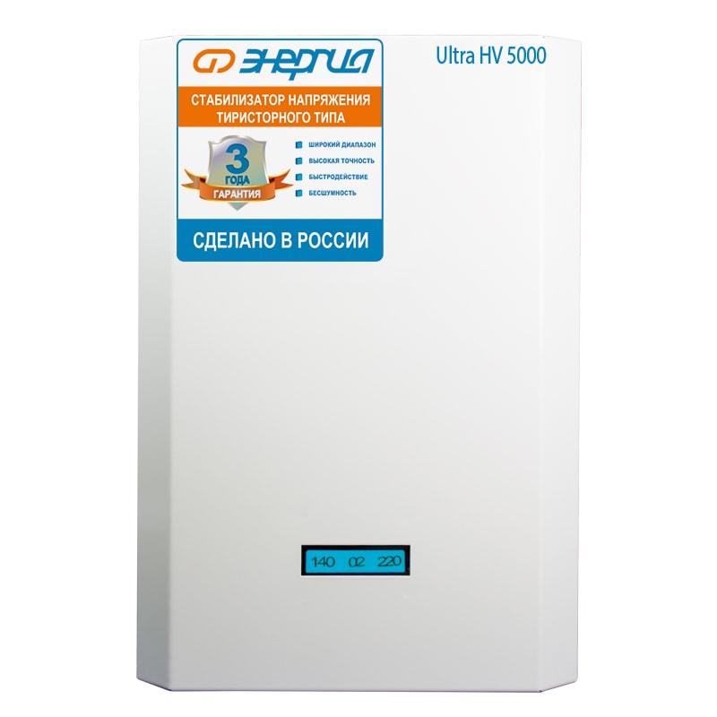 Однофазный стабилизатор напряжения Энергия Ultra 5000 (HV) - Стабилизаторы напряжения