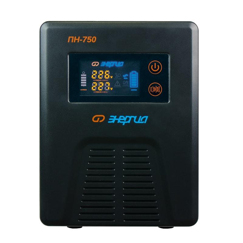 Инвертор (преобразователь напряжения) Энергия ПН-750 с цветным дисплеем от Вольт Маркет