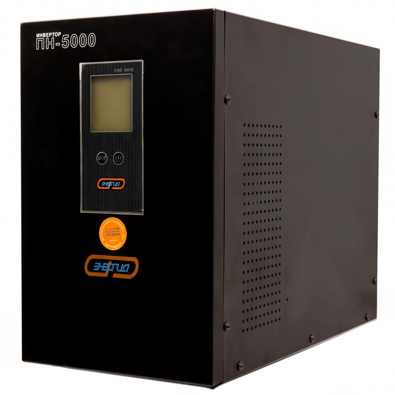 Инвертор (преобразователь напряжения) Энергия ПН-5000 - Инверторы