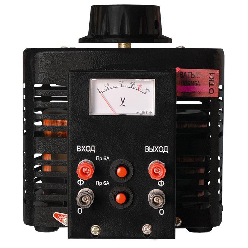 Автотрансформатор (ЛАТР) ЭНЕРГИЯ Black Series TDGC2-2кВА 6А (0-300V) однофазный - Трансформаторы