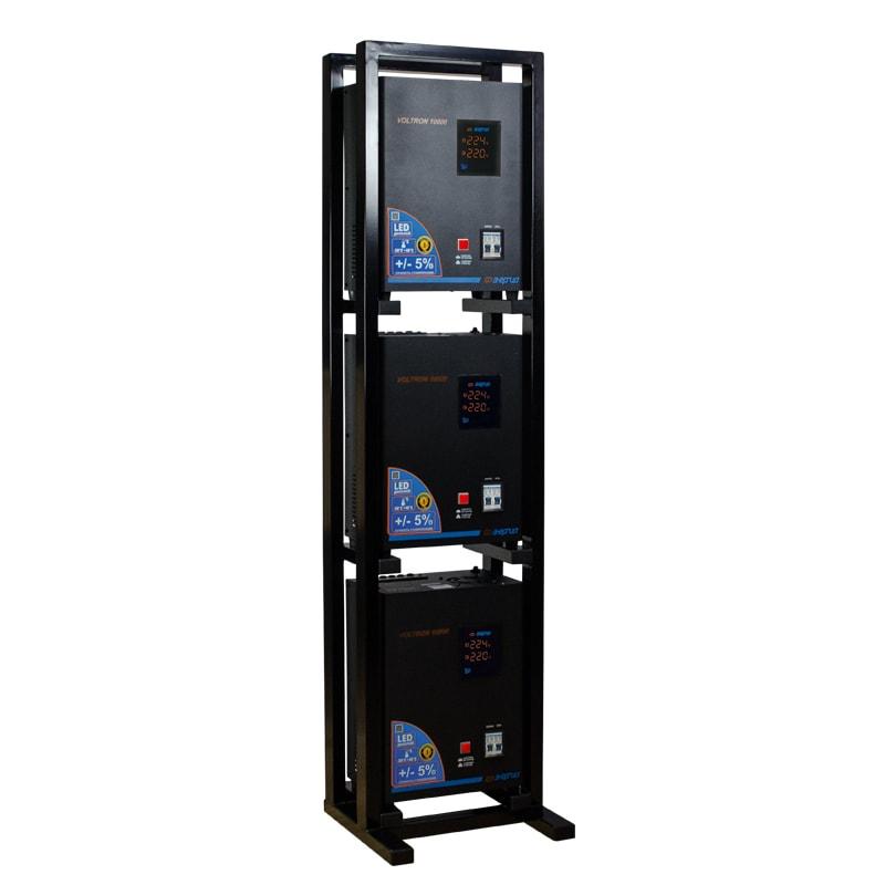 Трехфазный релейный стабилизатор напряжения Энергия Voltron 30000 (HP) от Вольт Маркет