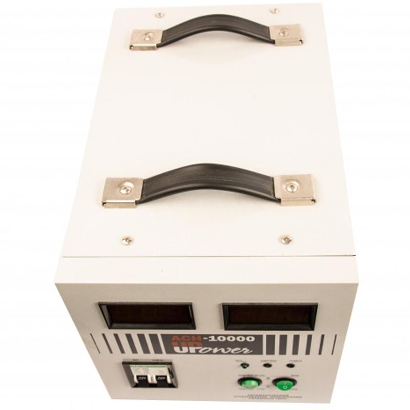 Однофазный стабилизатор напряжения UPOWER АСН-10000 с цифровым дисплеем от Вольт Маркет