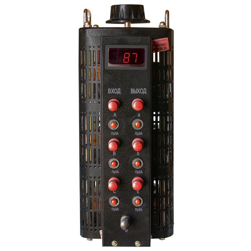 Автотрансформатор (ЛАТР) Энергия Black Series TSGC2-3кВА 3А (0-520V) трехфазный от Энергия
