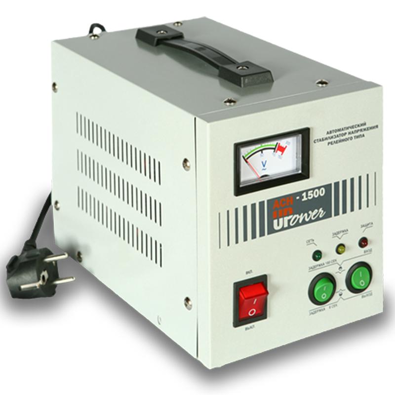 Однофазный стабилизатор напряжения UPOWER АСН-1500