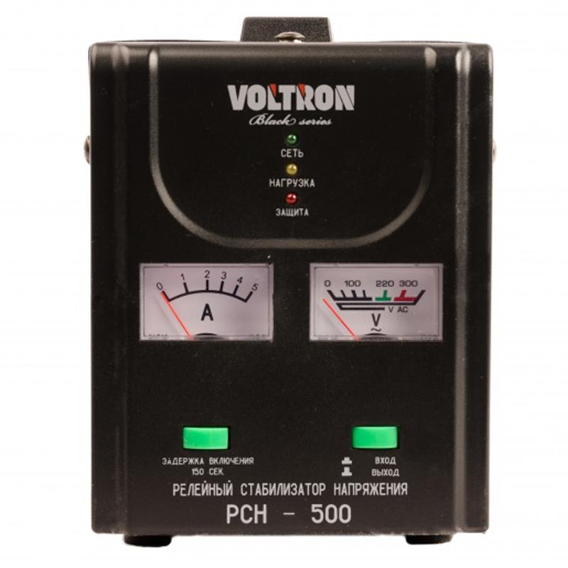 Однофазный стабилизатор напряжения VOLTRON РСН-1000