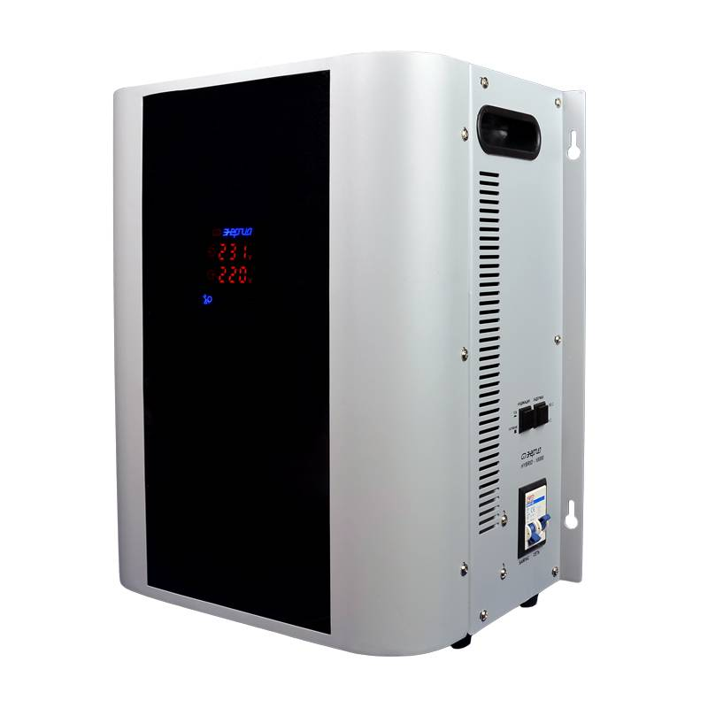 Однофазный стабилизатор напряжения Энергия Hybrid 10000 (U) - Стабилизаторы напряжения
