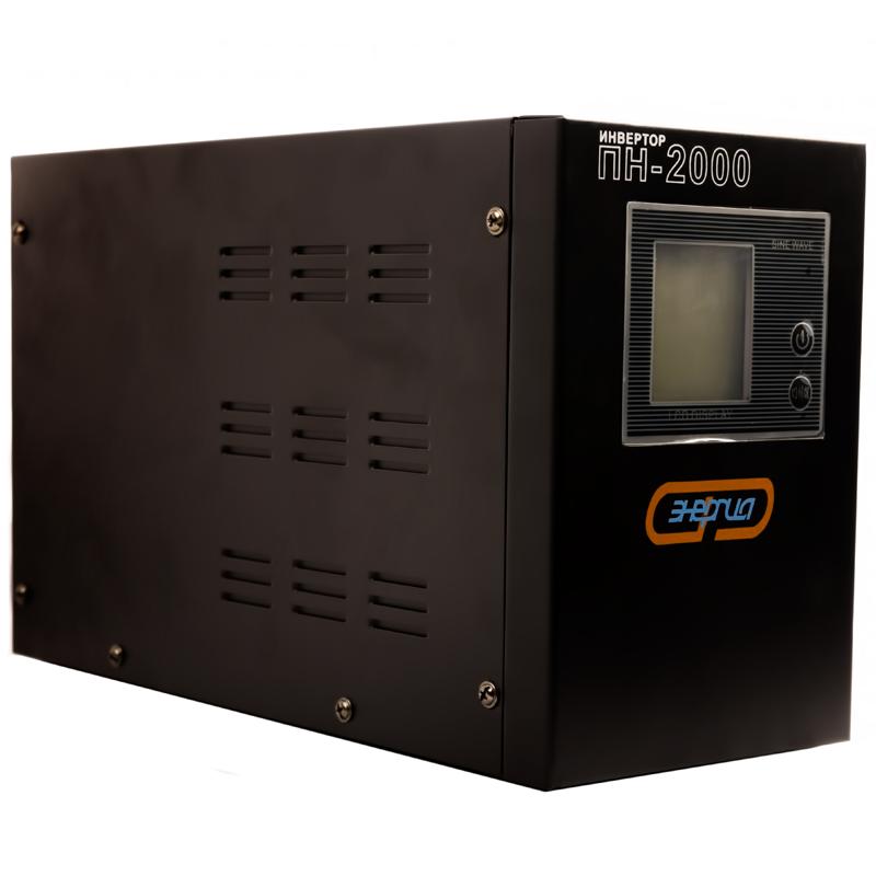 Инвертор (преобразователь напряжения) Энергия ПН-2000 - Инверторы