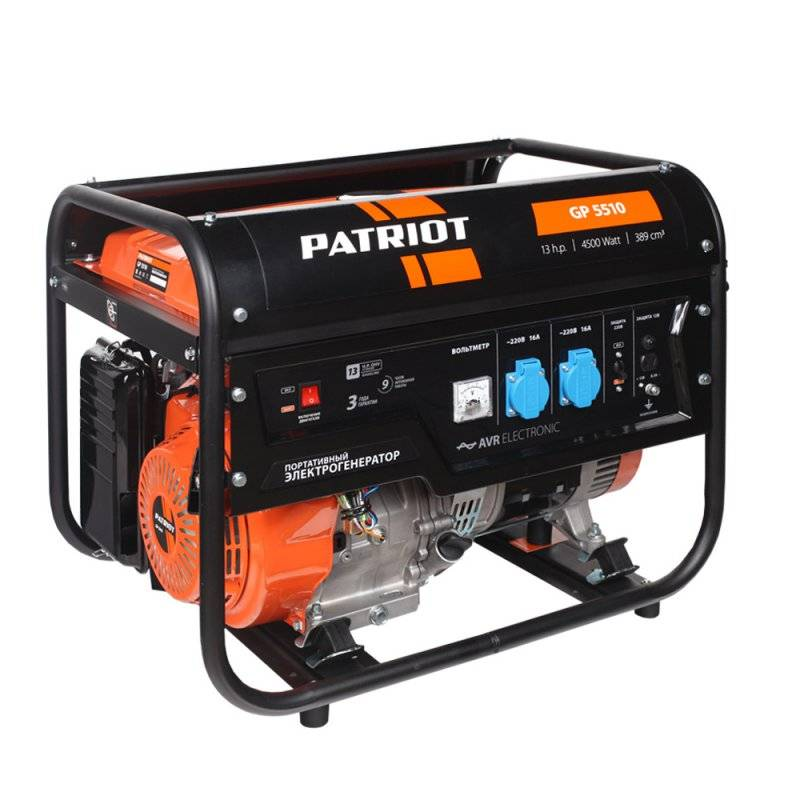 Генератор бензиновый PATRIOT GP 5510 снегоуборщик patriot ps 710 е