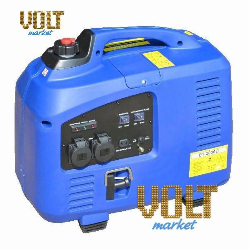 Генератор инверторный бензиновый ET-2000EI Etalon/EtaltechГенераторы<br>Генератор инверторный бензиновый ET-2000EI Etalon/Etaltech<br><br>Инверторный генератор: Да<br>С функцией сварки: Нет<br>Частота (Гц): 50<br>В кожухе: Да<br>Тип: Бензиновый<br>Тип запуска: Ручной стартер<br>Максимальная мощность двигателя (л.с.): 3.4<br>Номинальная мощность (кВт): 2<br>Максимальная мощность (кВт): 2.2<br>Топливо: Бензин АИ-92<br>Объем топливного бака (л): 7<br>Уровень шума (дБ): 65<br>Габаритные размеры (мм): 545x290x500<br>Вес (кг): 30<br>Вес брутто (кг): 32<br>brutto-weight: 32000