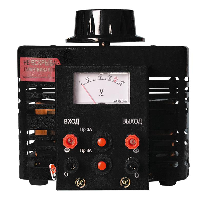 Автотрансформатор (ЛАТР) Энергия Black Series TDGC2-1кВА 3А (0-300V) однофазный от Энергия