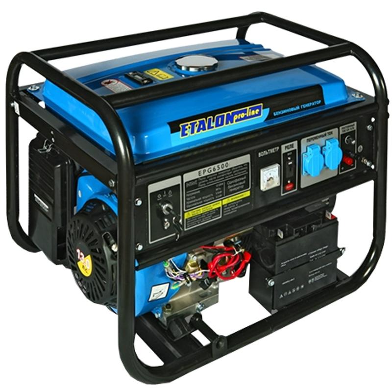 Бензогенератор ETALON EPG 6500 на 5 кВт - Генераторы