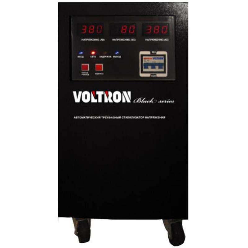 Трехфазный стабилизатор напряжения  VOLTRON SVC-20000/3DСтабилизаторы напряжения<br>Трехфазный стабилизатор напряжения  VOLTRON SVC-20000/3D<br><br>Тип напряжения: Трехфазный<br>Принцип стабилизации: Сервоприводный<br>Мощность (кВА): 20<br>Габаритные размеры (мм): 505х455х800<br>Вес (кг): 85<br>brutto-demissions: 550х510х885<br>brutto-weight: 85000