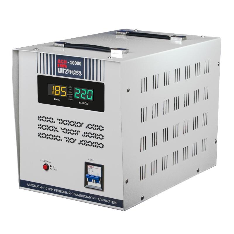 Однофазный стабилизатор напряжения UPOWER АСН 10000 II поколение от Вольт Маркет