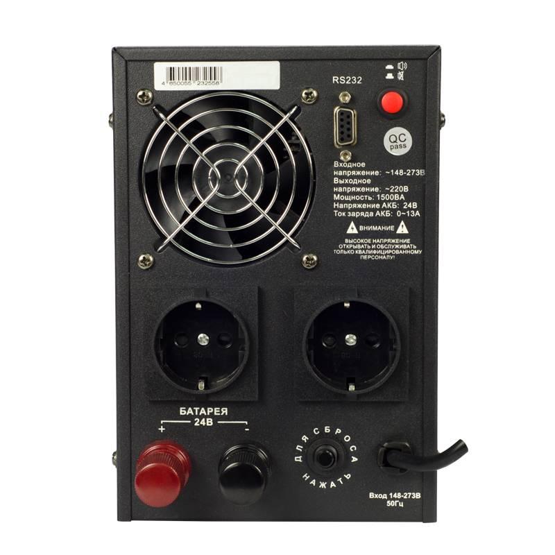 Инвертор (преобразователь напряжения) Энергия ПН-1500 от Вольт Маркет