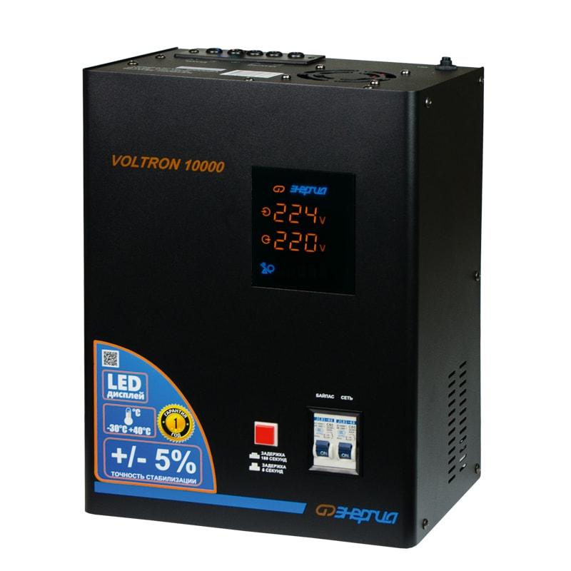 Однофазный стабилизатор напряжения Энергия Voltron 10000 (HP) от Вольт Маркет