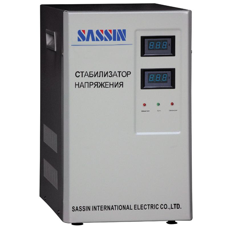 Однофазный стабилизатор напряжения SVC SASSIN 5000 вертикальныйСтабилизаторы напряжения<br>Однофазный стабилизатор напряжения SVC SASSIN 5000 вертикальный<br><br>Применение: Для дачи<br>Тип напряжения: Однофазный<br>Принцип стабилизации: Сервоприводный<br>Мощность (кВА): 5<br>Способ установки: Напольный<br>Габаритные размеры (мм): 320х250х470<br>Вес (кг): 28<br>brutto-weight: 30500