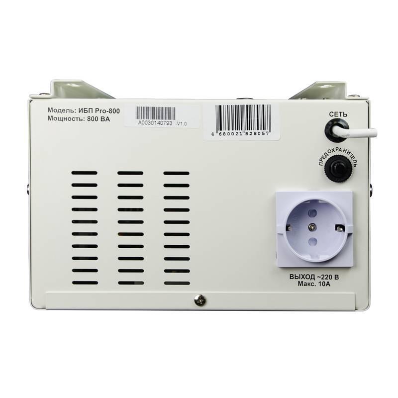 Преобразователь напряжения Энергия ИБП Pro 800 12В от Вольт Маркет