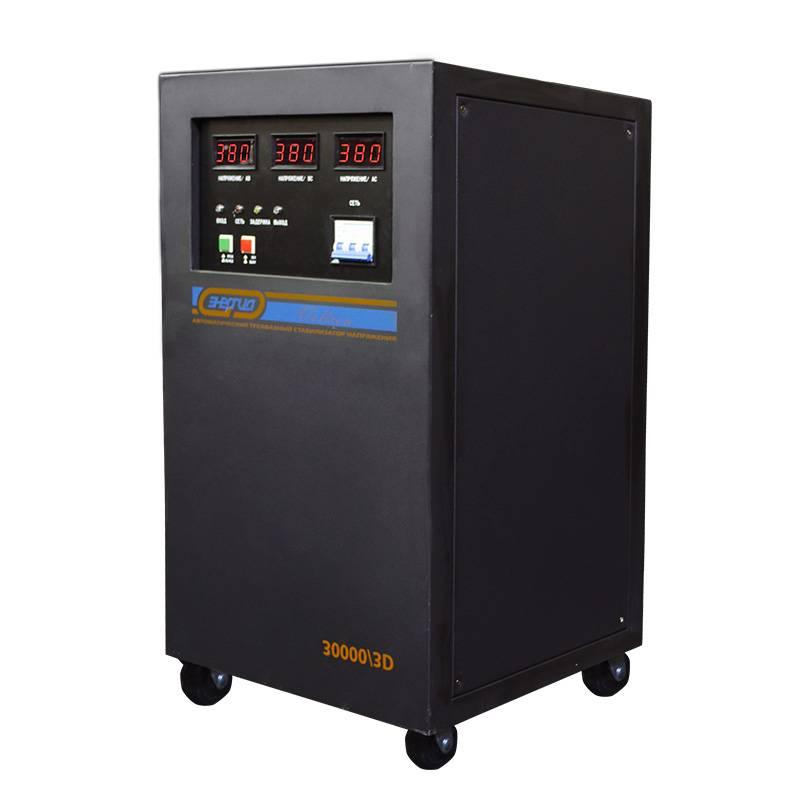 Трехфазный стабилизатор напряжения Энергия Voltron 30000/3D (30 кВА) от Вольт Маркет