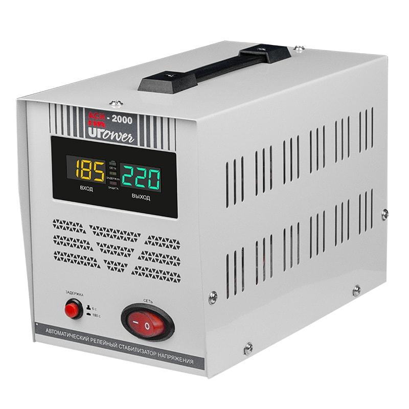 Однофазный стабилизатор напряжения UPOWER АСН 2000 II поколение от Вольт Маркет