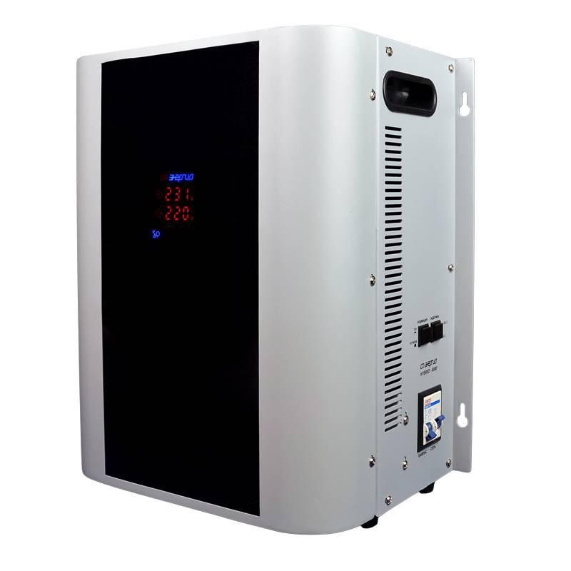 Однофазный стабилизатор напряжения Энергия Hybrid 8000 (U) от Вольт Маркет