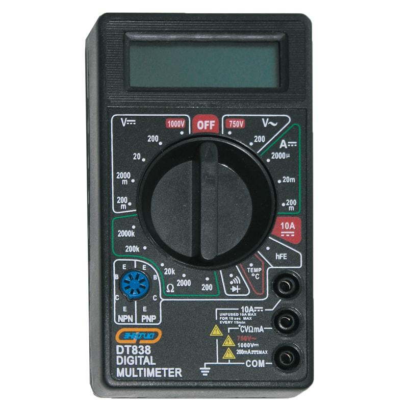 Мультиметр DT 838 ЭНЕРГИЯ мультиметр цифровой iek universal m830b