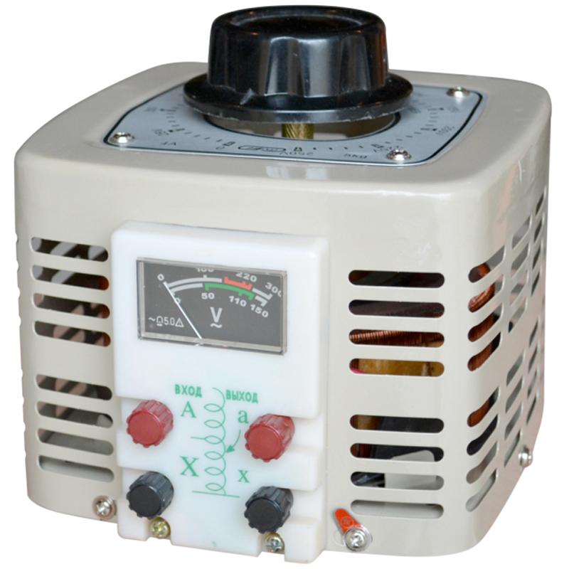 Регулируемый однофазный автотрансформатор (ЛАТР) ЭНЕРГИЯ TDGC2-1k (1 кВА)Трансформаторы<br>Регулируемый однофазный автотрансформатор  ЛАТР  TDGC2-1k  1 кВА<br><br>Тип напряжения: Однофазный<br>Мощность (кВА): 1<br>Габаритные размеры (мм): 85х170х220<br>Вес (кг): 6.3<br>brutto-demissions: 280х210х225<br>brutto-weight: 6650