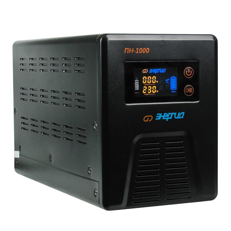 Инвертор (преобразователь напряжения) Энергия ПН-1000 с цветным дисплеем - Инверторы