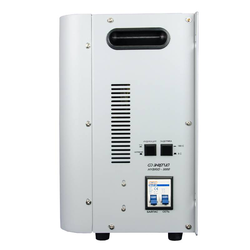 Однофазный стабилизатор напряжения Энергия Hybrid 5000 (U) от Вольт Маркет