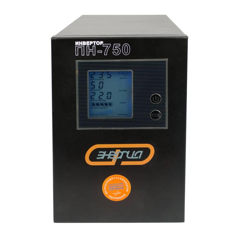 Инвертор (преобразователь напряжения) Энергия ПН-750 от Вольт Маркет